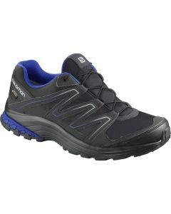 Blau schwarzer Salomon Sollia Gtx Schuh