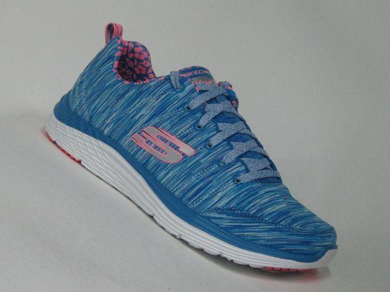 new style 7a6e0 51caf Skechers Valeris BLCL blau/pink