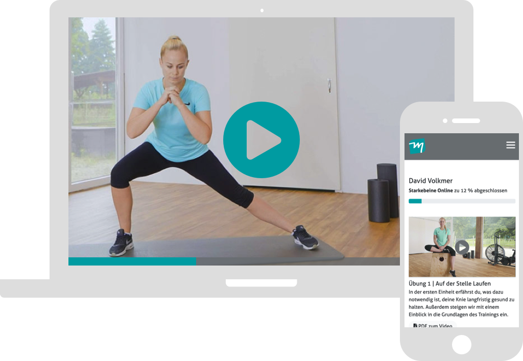 Kniepräventionskurs per PC und Handy