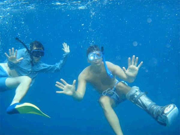 Schwimmen mit VACOped