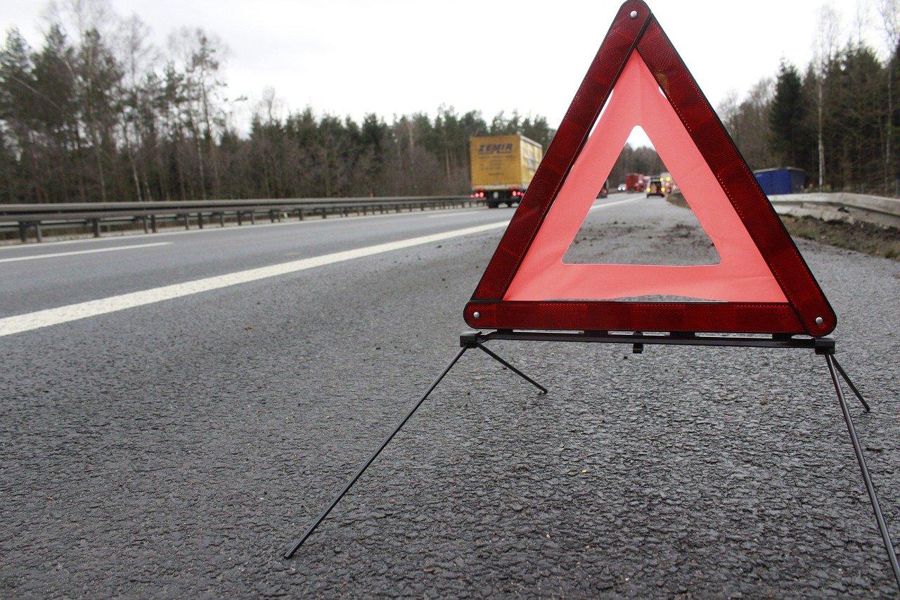 Warndreieck Unfall