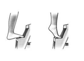 Wadenmuskel Training